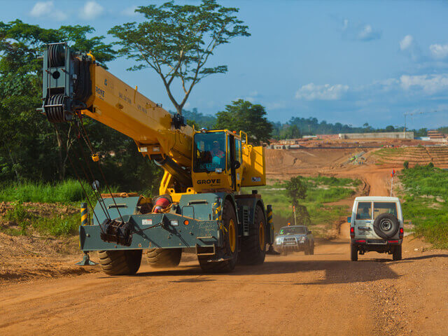 Grove RT Mobile Crane