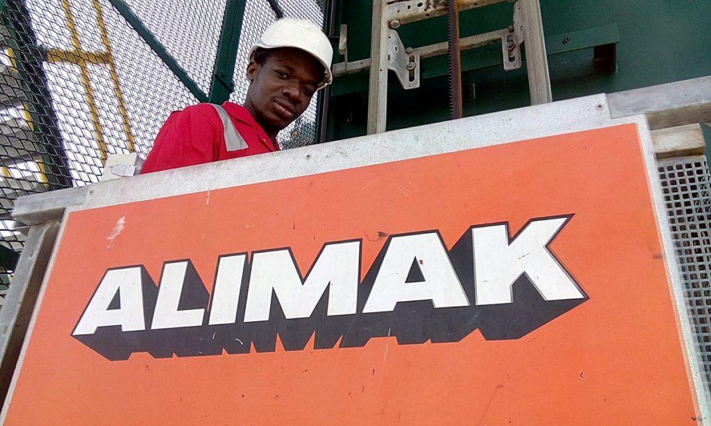 En 2016, nos ingénieurs de grue basés à LCT ont achevé leur formation à Alimak Hek.