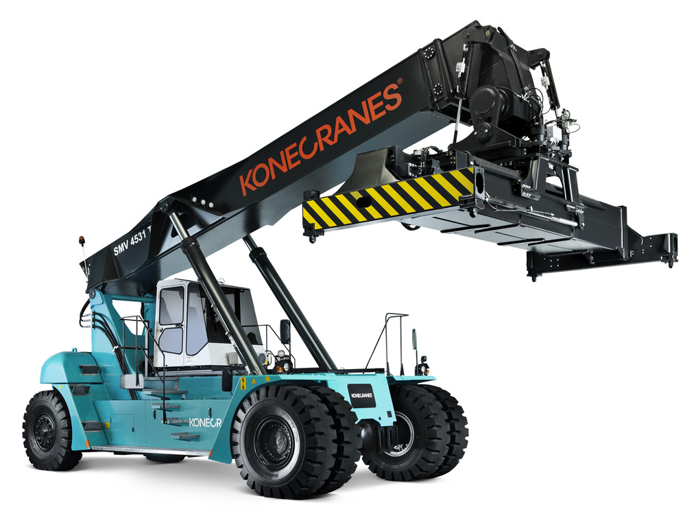 Konecranes Reach Stacker Trucks.