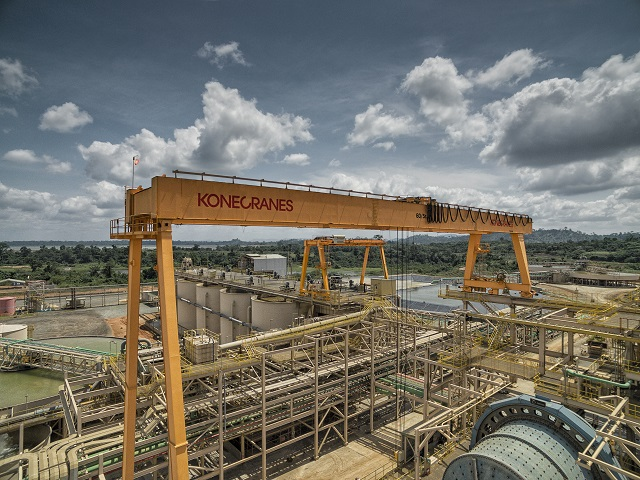 Overhead Crane Mining