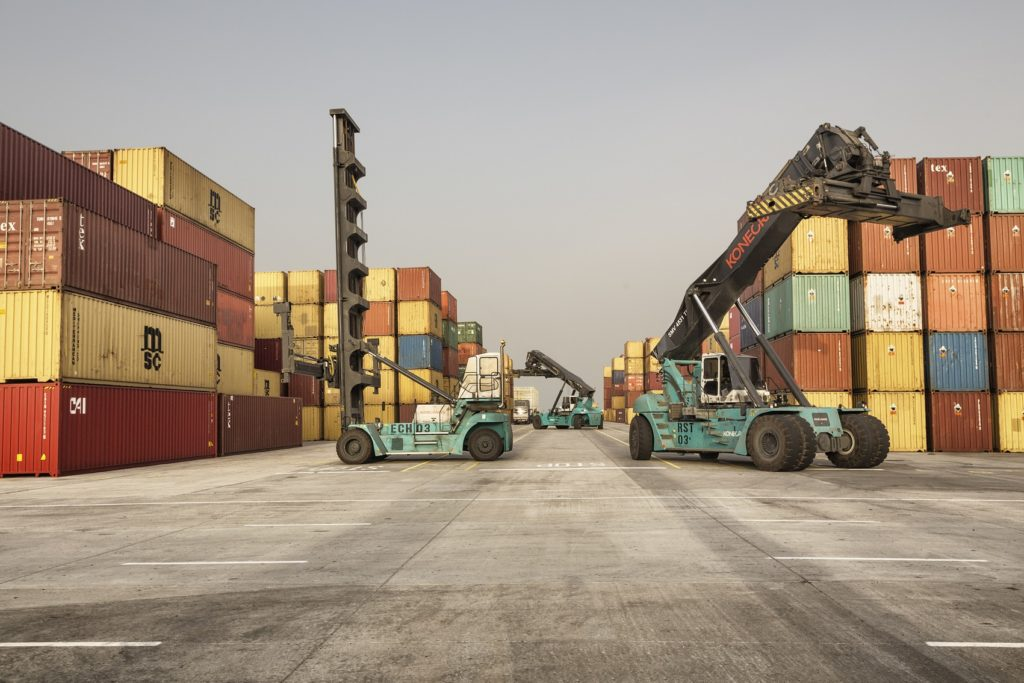 Konecranes Lift Trucks at LCT, Lome Port, Togo